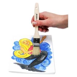 Pinceaux pour vernis-colle