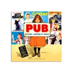 Livre PUB Affiches, cartons et objets