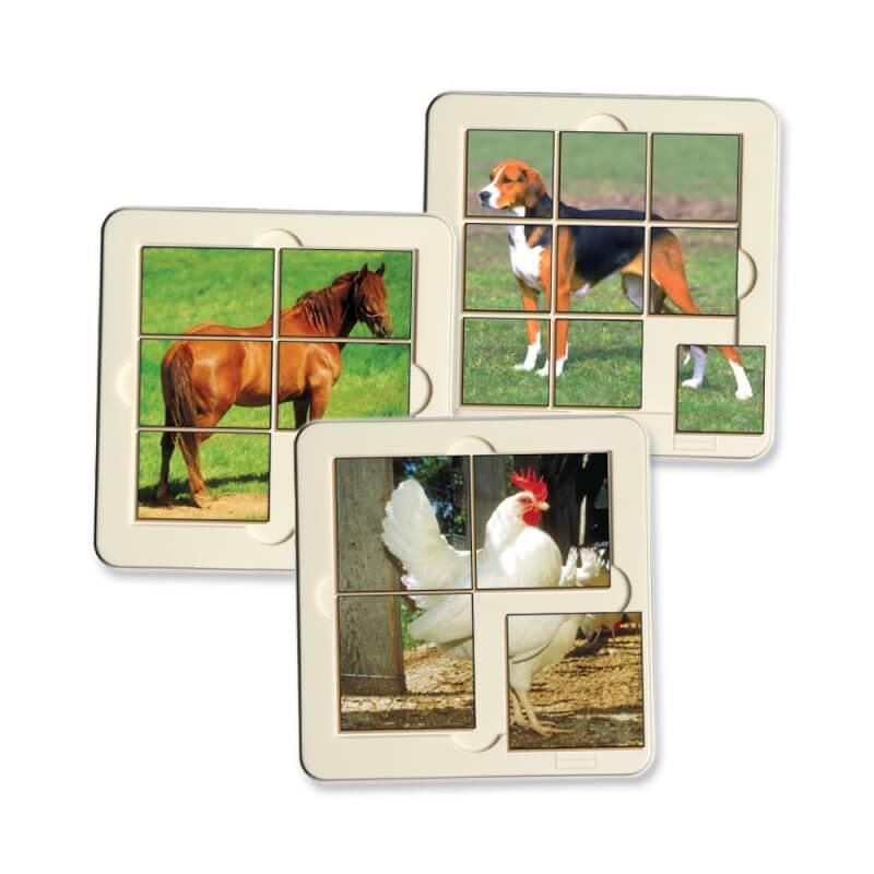 puzzle animaux de la ferme