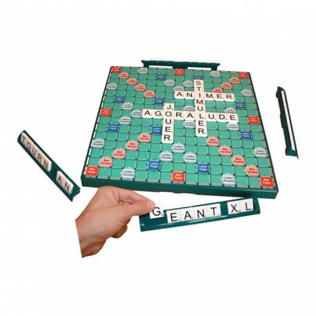 Scrabble géant, tournant & encastrable