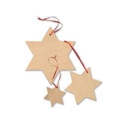 Les étoiles à décorer
