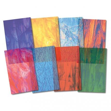 Papier vitrail