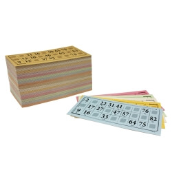 Cartes de loto grand format
