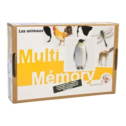 Multi Mémory grande taille les animaux