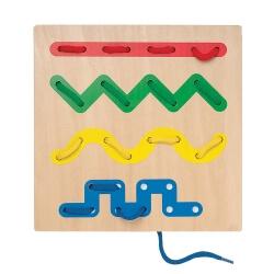 Planche de laçage formes géométriques
