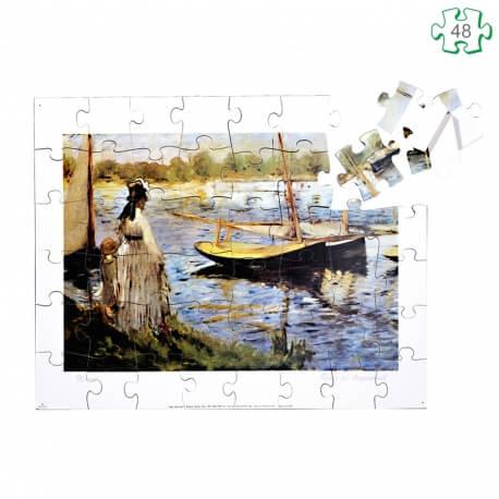 Puzzle La Rivière d'Argenteuil de Monet