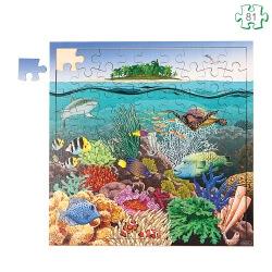 Puzzle Le lagon