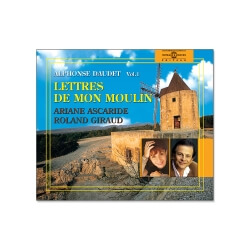 Livre CD Lettres de mon moulin