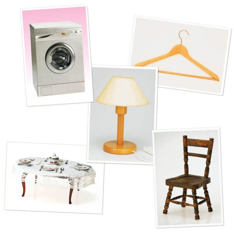 Imagier objets de la maison for Maison de objet