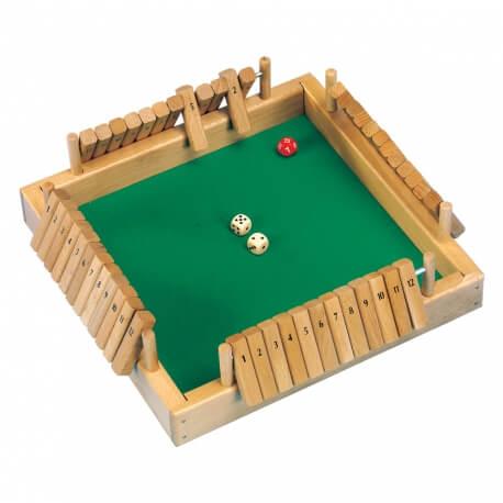 Grand Shut the box 4 joueurs