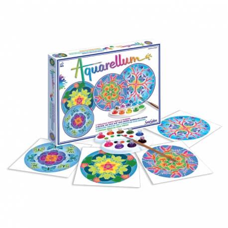 Aquarellum Mandalas animaux