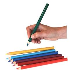 Grands crayons de couleur