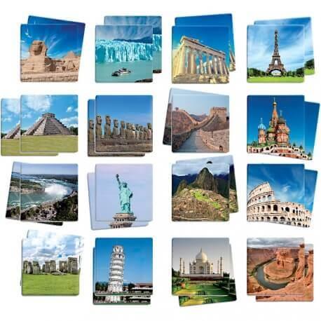 Maxi-mémory  Monuments du monde
