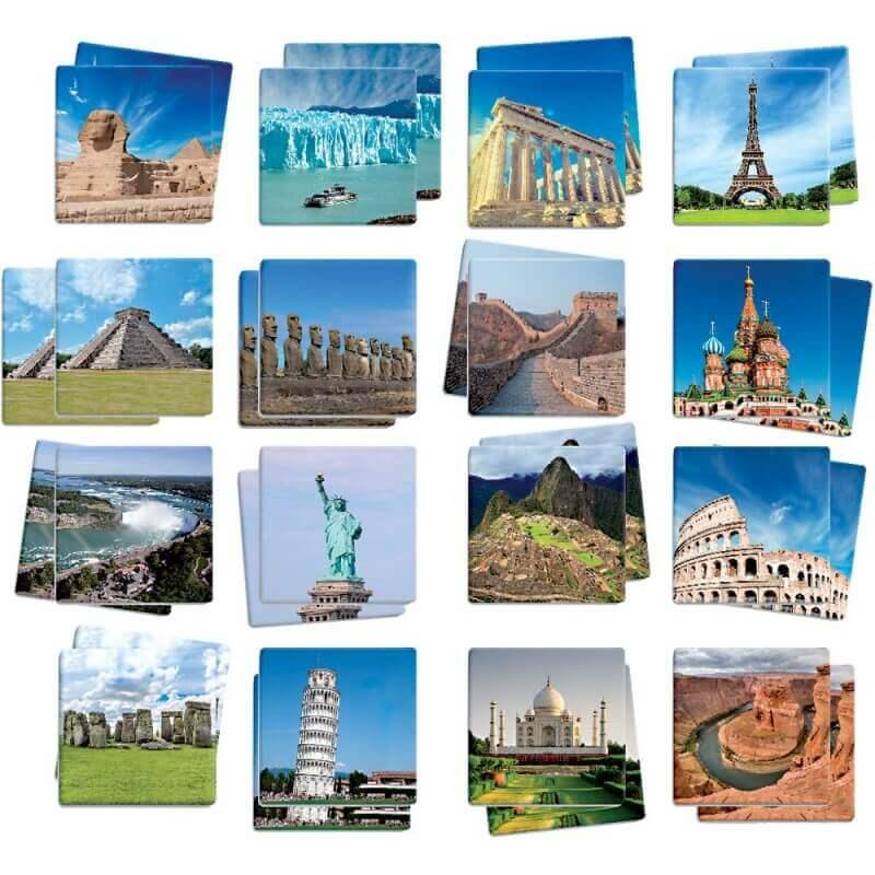 Maxi m mory monuments du monde for Les monuments les plus connus du monde