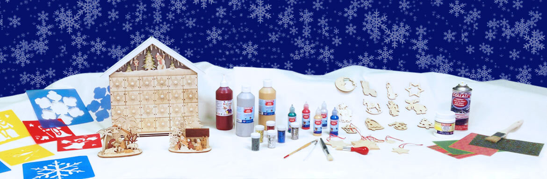 créations manuelles et décorations spécial Noel