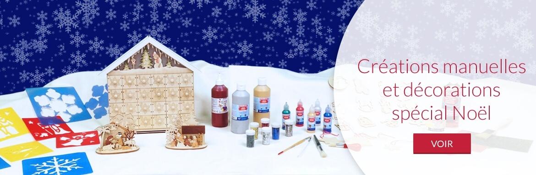 Créations manuelles et décorations spécial Noël