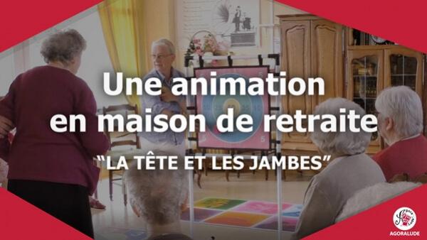 Jeux et animation en maison de retraite adapt s aux for Animation en maison de retraite