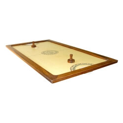 Shuffle-puck - Air hockey jeu en bois géant - Jeux de palets de table