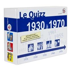 Le Quizz 1930 à 1970