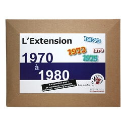 Le Quizz L'Extension de 1970 à 1980