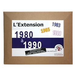 Le Quizz L'Extension de 1970 à 1980