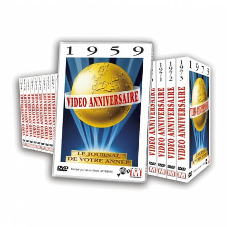 DVD Vidéo anniversaire