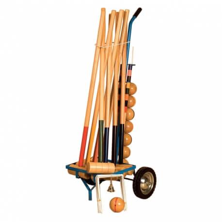 Croquet sur chariot