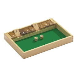 Jeu de Shut the box