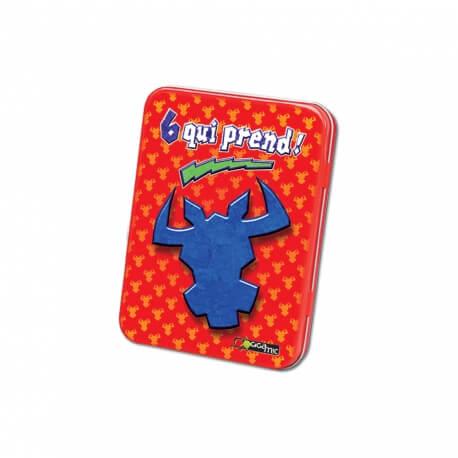 6 qui prend - Jeu de cartes amusant adapté aux personnes âgées