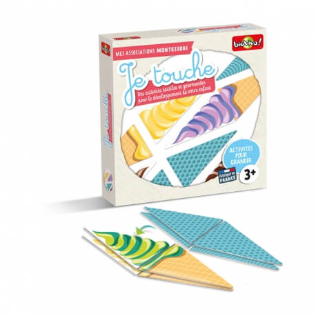 Coffret Montessori Je touche
