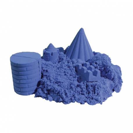 Sable à modeler Recharge bleue