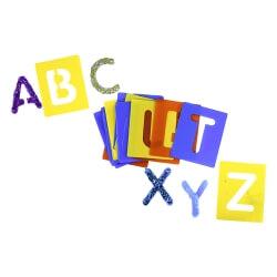 Pochoirs Alphabet majuscule