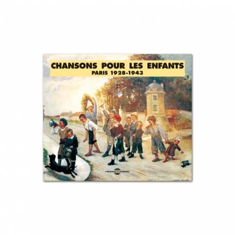 CD Les chansons de l'enfance