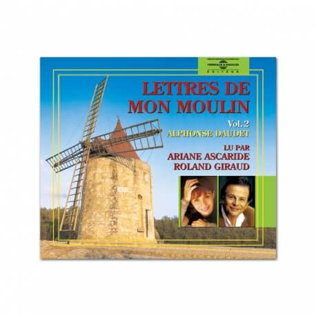 Livre CD Lettres  de mon moulin vol. 2
