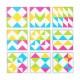 Cadre à motifs - Triangles