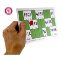 Grandes cartes de loto magnétiques