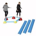 Parcours modulable Traverses bleues