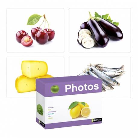 Imagier aliments - Photo grand format - Atelier langage avec des seniors