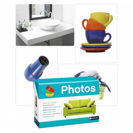 Imagier les Objets de la maison - Photo grand format - Atelier langage