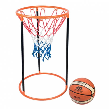 Panier de basket au sol - Activités physiques et gym douce en EHPAD