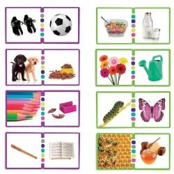 Jeu des associations – Exercice de discrimination visuelle pour séniors