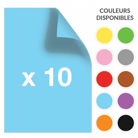 Papier couleur