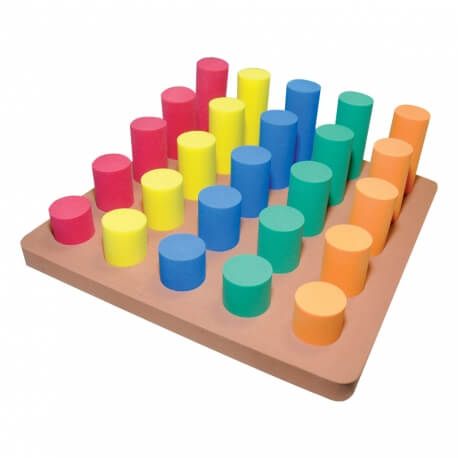 Volumes a encastrer n°1 - Jeux à empiler pour personnes âgées désorientées