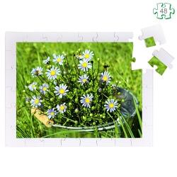 Puzzle pour séniors et personnes âgées - Pièces xxl en bois - Le bouquet