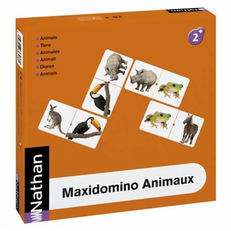 Jeu de dominos avec des animaux - Maxidomino Animaux