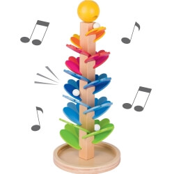 Arbre à billes musical - activités sensorielles - Montessori seniors
