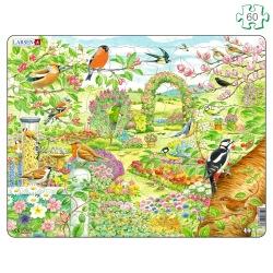 Puzzle avec contour Oiseaux