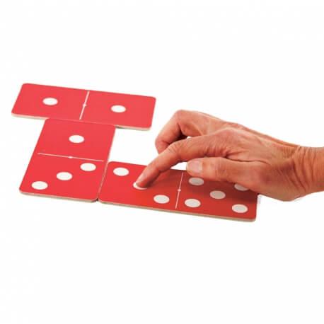 Dominos tactiles pour malvoyant et personnes âgées