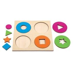 Puzzle cercles et formes