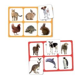 Jeu de loto sur le thème des animaux - Maxiloto – Animation ehpad